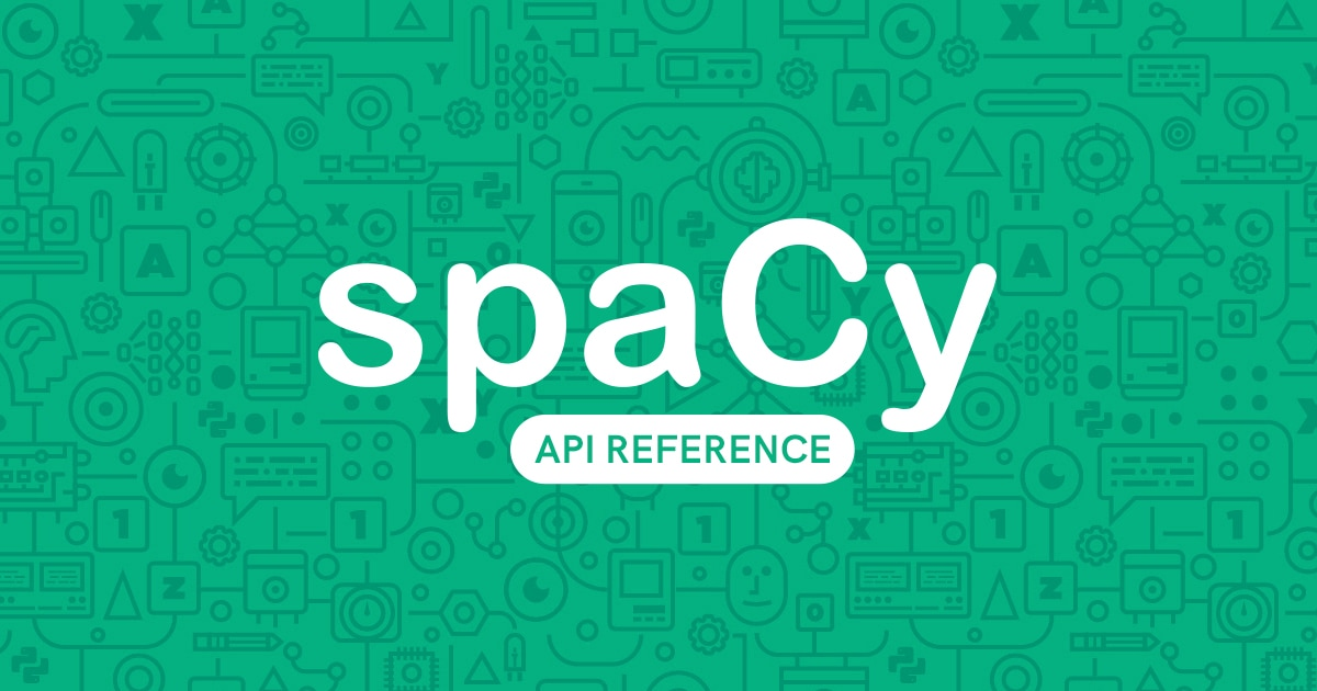 Vectors · spaCy API Documentation