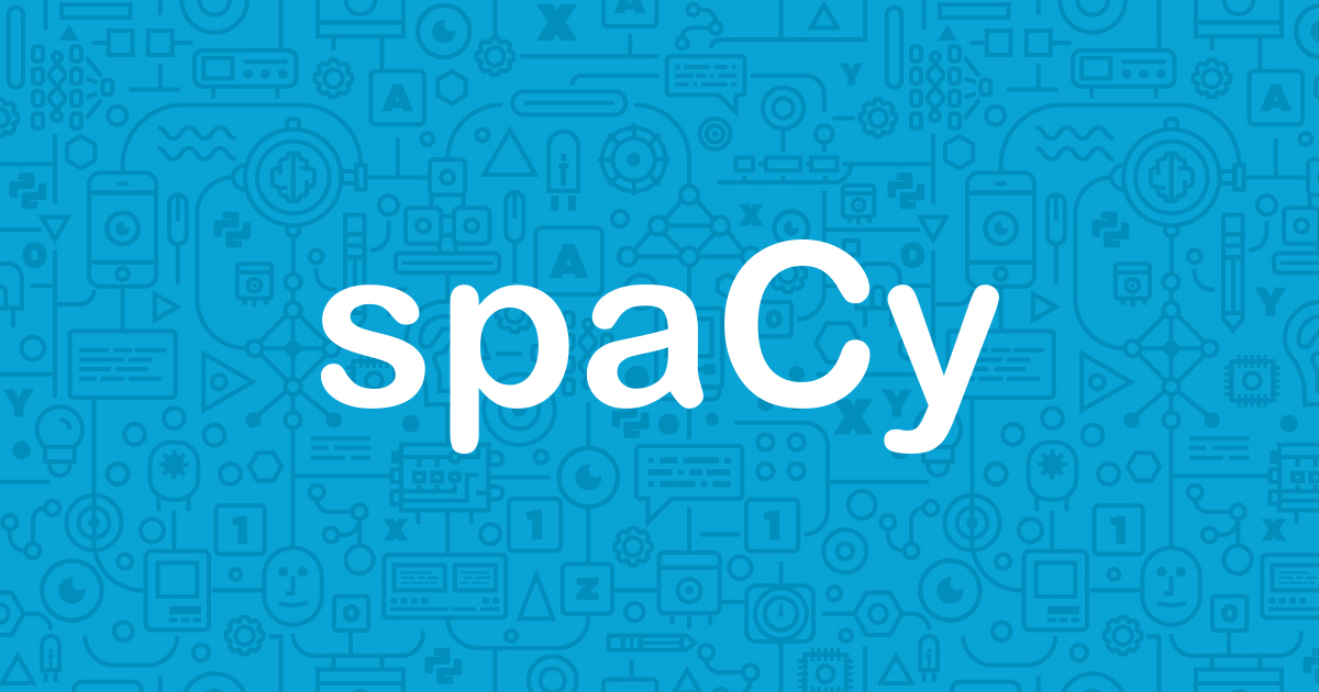 spaCy · Industrial-strength Natural Language Processing in