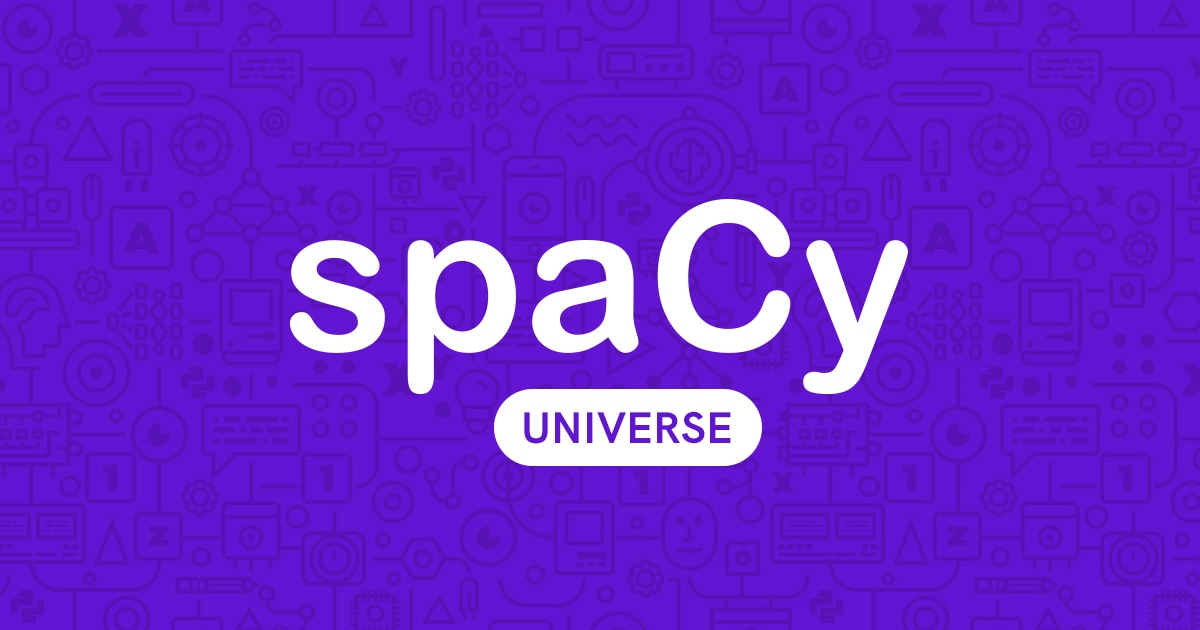 Overview · spaCy Universe